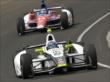 Josef Newgarden and Takuma Sato -- Photo by: Dan Boyd