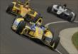 Marco Andretti, Ryan Hunter-Reay, and Kurt Busch -- Photo by: Dan Boyd