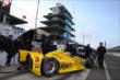 Helio Castroneves at IMS -- Photo by: Chris Jones