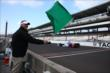 Mikhail Aleshin takes the green flag at IMS -- Photo by: Chris Jones