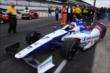 Mikhail Aleshin heads out for qualifying -- Photo by: Chris Jones