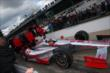 Tony Kanaan heads out for qualifying -- Photo by: Chris Jones
