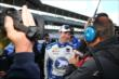 JR Hildebrand talks to the media -- Photo by: Chris Jones