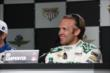 Ed Carpenter during a press conference -- Photo by: Chris Jones