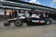 Will Power heads out for qualifying for the Indianapolis 500 -- Photo by: Chris Owens