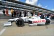 Simon Pagenaud heads out for qualifying for the Indianapolis 500 -- Photo by: Chris Owens