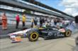 Townsend Bell heads out for qualifying for the Indianapolis 500 -- Photo by: Chris Owens