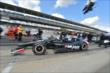 Oriol Servia heads out for qualifying for the Indianapolis 500 -- Photo by: Chris Owens