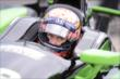 Jack Hawksworth in his car -- Photo by: Chris Owens