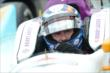 Buddy Lazier in his car -- Photo by: Chris Owens