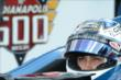 Graham Rahal in his car prior to qualifying -- Photo by: Chris Owens