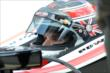 Will Power in his car prior to qualifying -- Photo by: Chris Owens