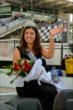 500 Festival Princess at IMS -- Photo by: Doug Mathews