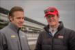 Ed Carpenter and Scott Dixon in pit lane -- Photo by: Forrest Mellott