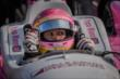 Pippa Mann in her car -- Photo by: Forrest Mellott