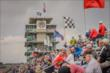 Fans enjoy qualifying at IMS -- Photo by: Forrest Mellott
