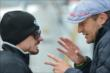 Townsend Bell speaks with Alex Tagliani -- Photo by: John Cote