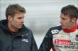 Will Power speaks with James Davison -- Photo by: John Cote