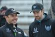 Oriol Servia and James Hinchcliffe -- Photo by: John Cote
