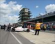 The No. 77 car rolls to Gasoline Alley -- Photo by: Jim Haines