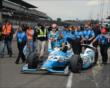 James Hinchcliffe and crew -- Photo by: Jim Haines