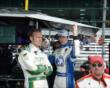 Teammates Ed Carpenter and JR Hildebrand -- Photo by: Jim Haines