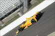 Ryan Hunter-Reay during morning practice -- Photo by: Jim Haines
