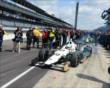 Ed Carpenter heads out to qualify -- Photo by: Jim Haines