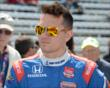 Mikhail Aleshin -- Photo by: Jim Haines