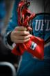 James Hinchcliffe's gloves -- Photo by: Shawn Gritzmacher
