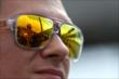 The reflection of IMS in the sunglasses of Mikhail Aleshin -- Photo by: Shawn Gritzmacher
