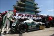 Ed Carpenter after winning pole -- Photo by: Chris Jones