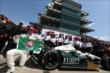 Ed Carpenter wins pole for the Indianapolis 500 -- Photo by: Chris Jones