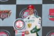 Ed Carpenter with the Verizon P1 award -- Photo by: Chris Jones