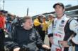 Sam Schmidt and Simon Pagenaud -- Photo by: Chris Owens