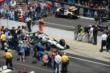 Ed Carpenter heads out to qualify -- Photo by: Dana Garrett