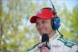Ed Carpenter live on ESPN -- Photo by: Dana Garrett