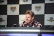 Will Power during a press conference -- Photo by: Dana Garrett
