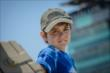Young race fan at IMS -- Photo by: Forrest Mellott
