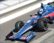 Graham Rahal in pit lane -- Photo by: Jim Haines