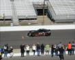 Sam Schmidt on track -- Photo by: Jim Haines