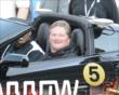 Sam Schmidt in his specially made corvette -- Photo by: Jim Haines