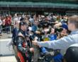 Kurt Busch speaks with the media -- Photo by: Jim Haines