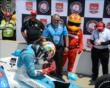 James Hinchcliffe after qualifying -- Photo by: Jim Haines