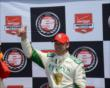 Ed Carpenter is the Verizon P1 award winner -- Photo by: Jim Haines