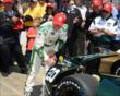 Ed Carpenter wins the Verizon P1 award -- Photo by: Jim Haines