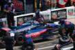 Graham Rahal during the pit stop competition -- Photo by: Bret Kelley