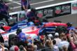 Takuma Sato during the pit stop competition -- Photo by: Bret Kelley
