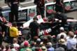 Will Power and crew during the pit stop competition -- Photo by: Bret Kelley