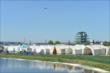 Glamping village at IMS -- Photo by: Chris Owens